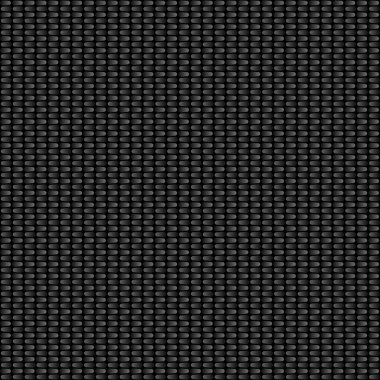 Rounded Carbon Fiber Texture