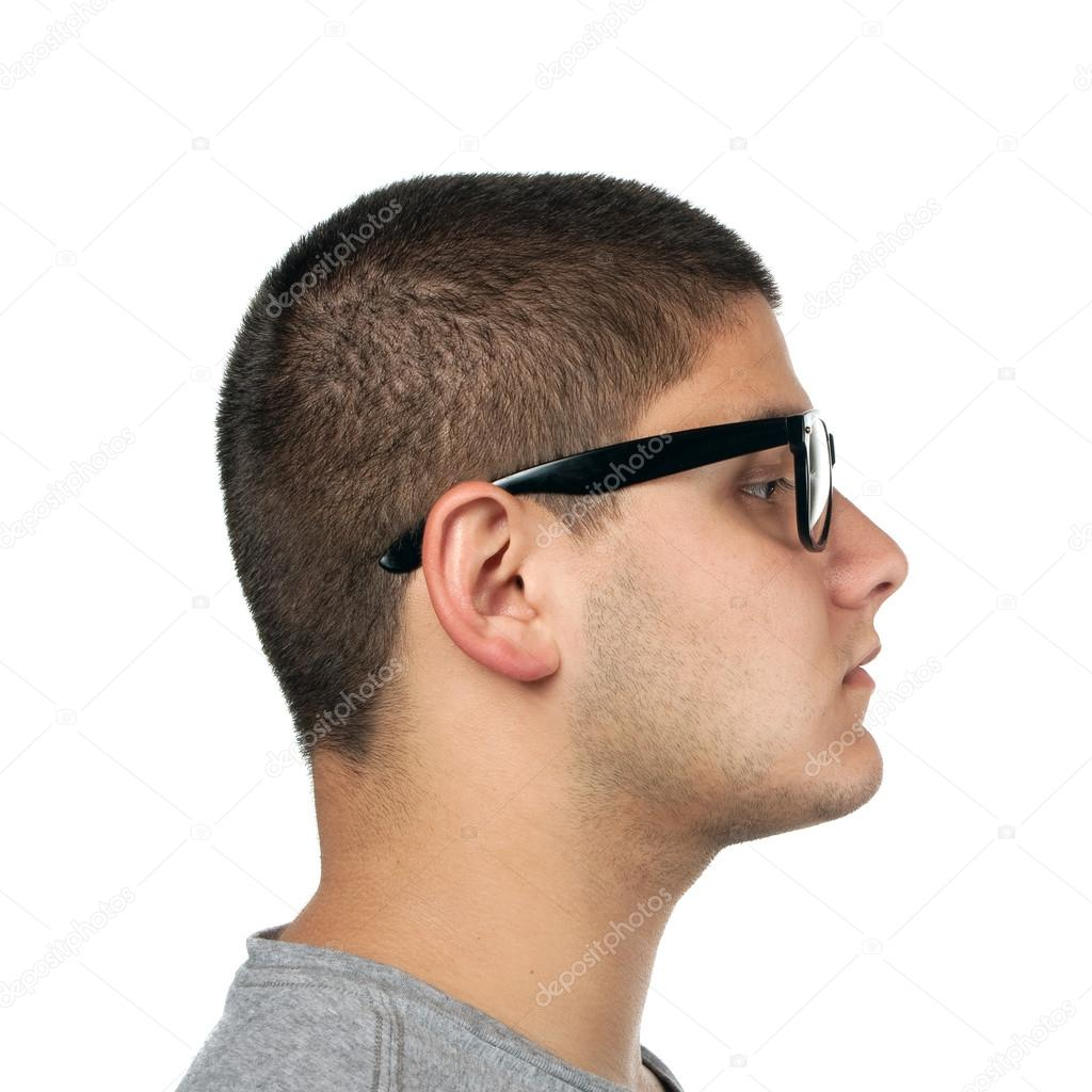 young man side profile � stock photo 169 arenacreative 28090835