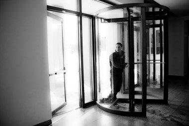 Revolving Door Entrance