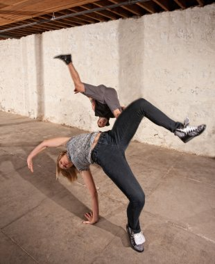 Capoeria Aerial Cartwheels