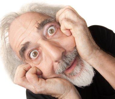 Scared Senior Male