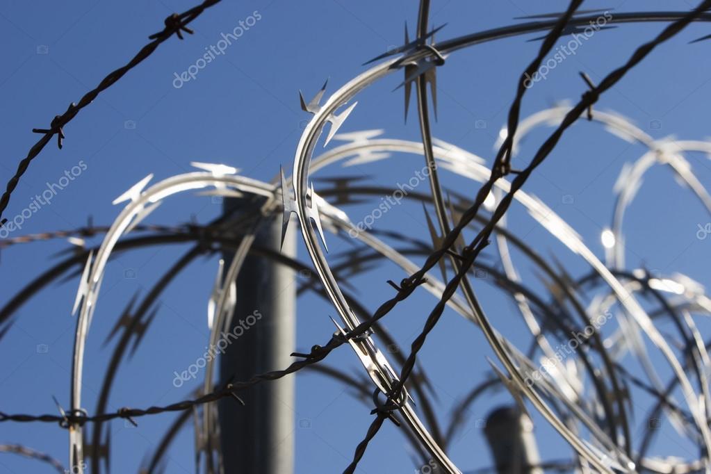 Razor Wire — Stock Photo © creatista #39445037