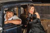 Gefährliche 1920er Jahre Vintage Gangster