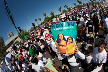 Arizona Immigration SB1070 Protest Rally