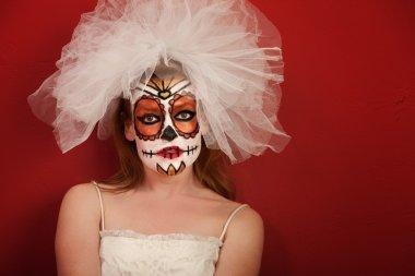 Dia de la Muertos Bride