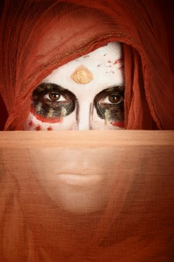 Dia de la Muertos Lady