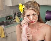Plačící žena
