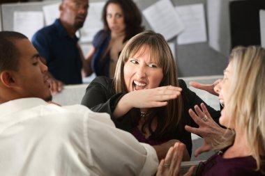 Colleagues Quarrel