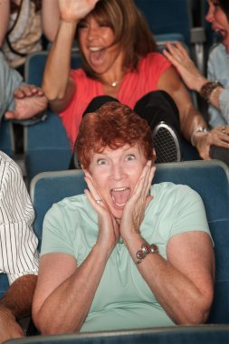 Scared Mature Lady
