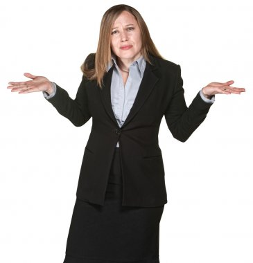 Confused Business Woman