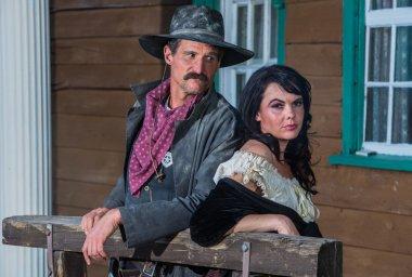 Gruff Man and Woman