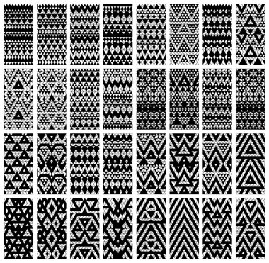 Tribal lace patterns
