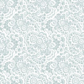 Photo Lace seamless pattern with flowers