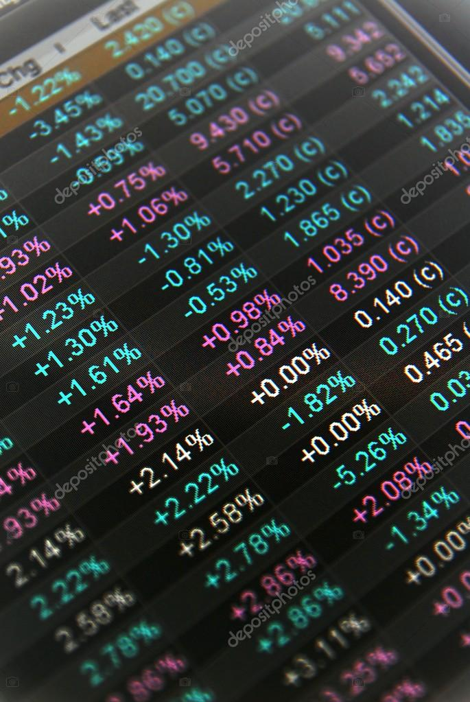 Stock Quotes No Real Time Quotes At The Stock Market Stock Photo Simple After Market Stock Quotes