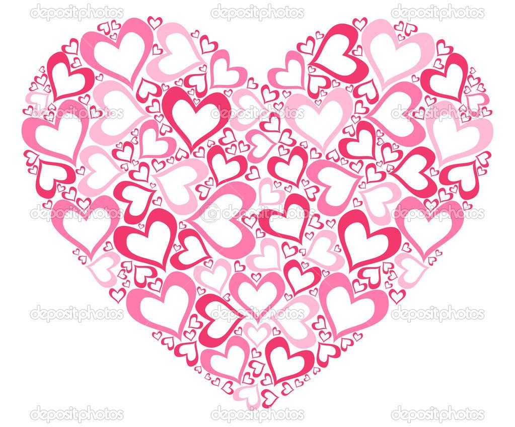 Resultado de imagem para coração rosa