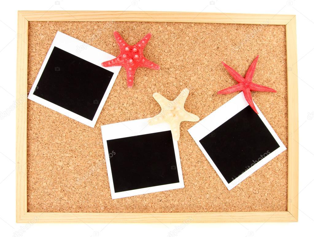 Kork-Board mit Gedenk-Hinweise — Stockfoto © belchonock #12711577