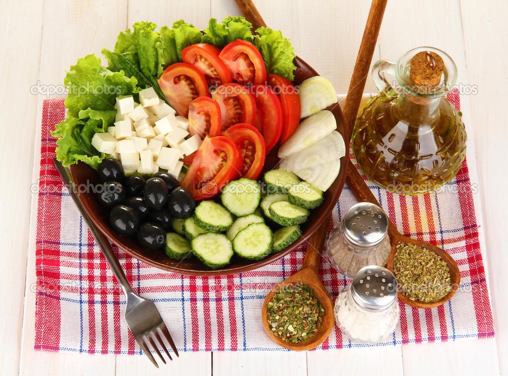 kruiden griekse salade
