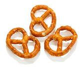 Fotografie Tasty pretzels isolated on white