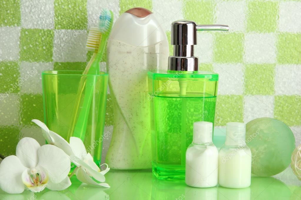 Accessori bagno verde acido una fonte di ispirazione per - Bagno verde mela ...