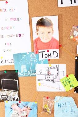 Investigating case into missing children
