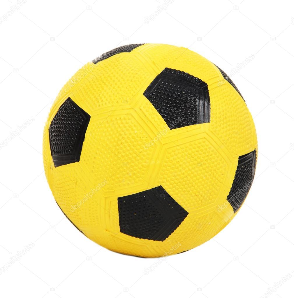 949bb6836c8b7 Pelota de futbol amarillo infantiles