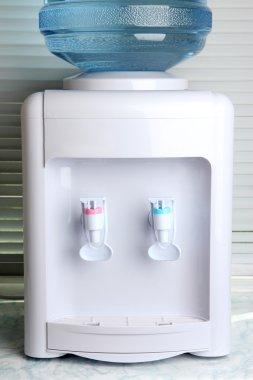 Water cooler close-up