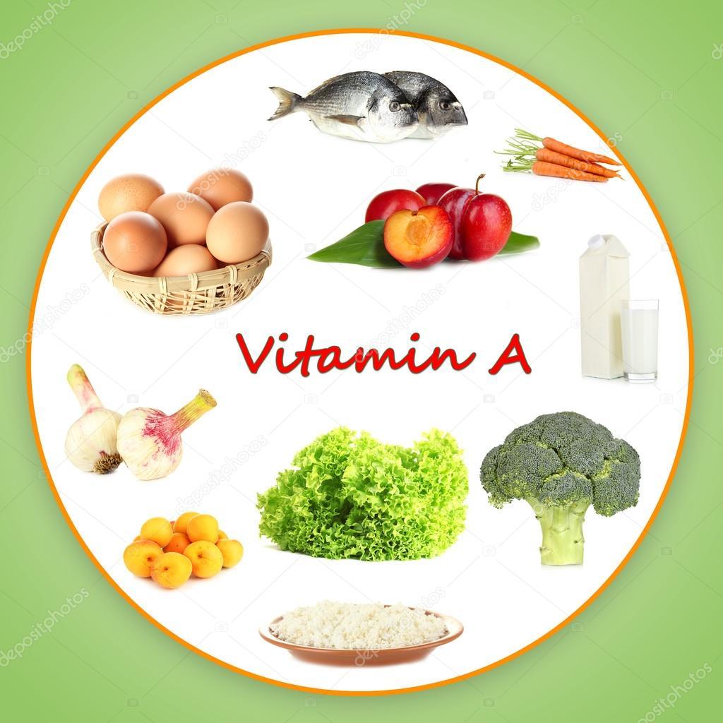 A Vitamini İçeren Yiyecekler