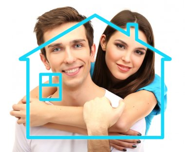 Home, real estate and family concept