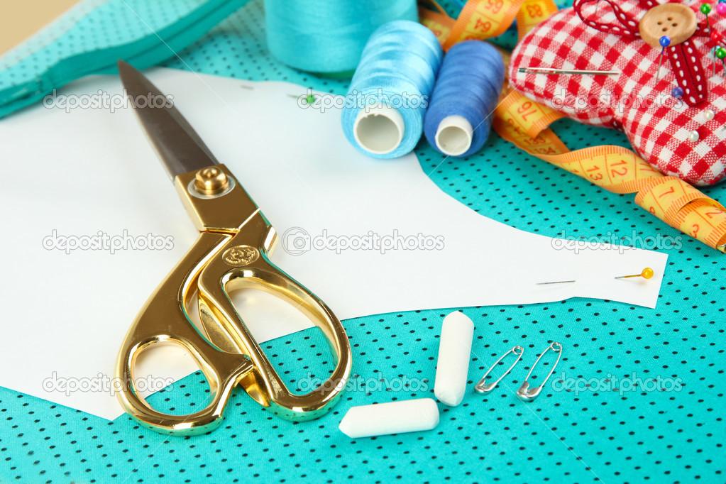 Sewing Tools Fashion Design Stock Photo Belchonock 33670051