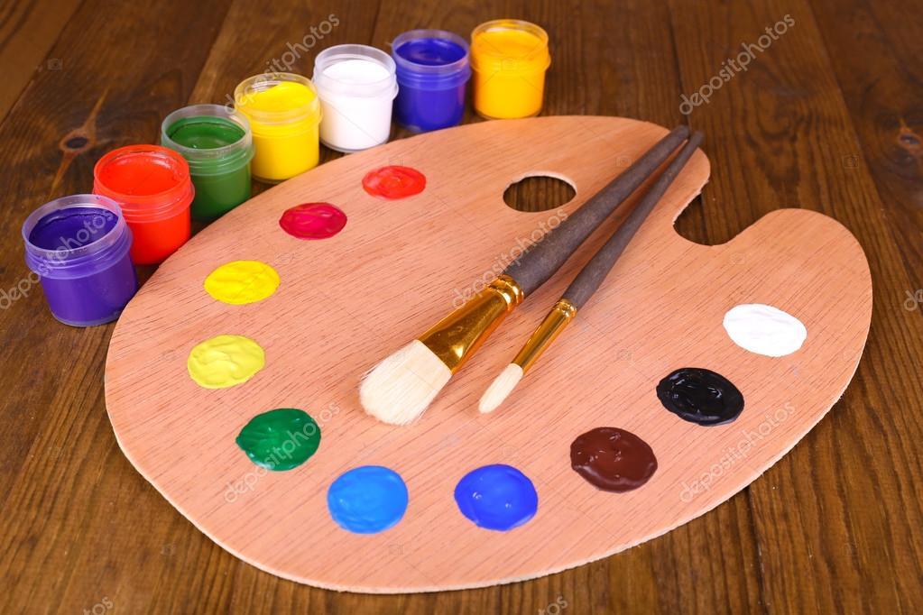palette de peintre en bois free confiturier en bois de palettedeux palettes peinture farine. Black Bedroom Furniture Sets. Home Design Ideas