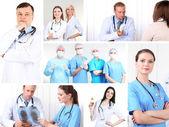 Lékařské pojmy koláž