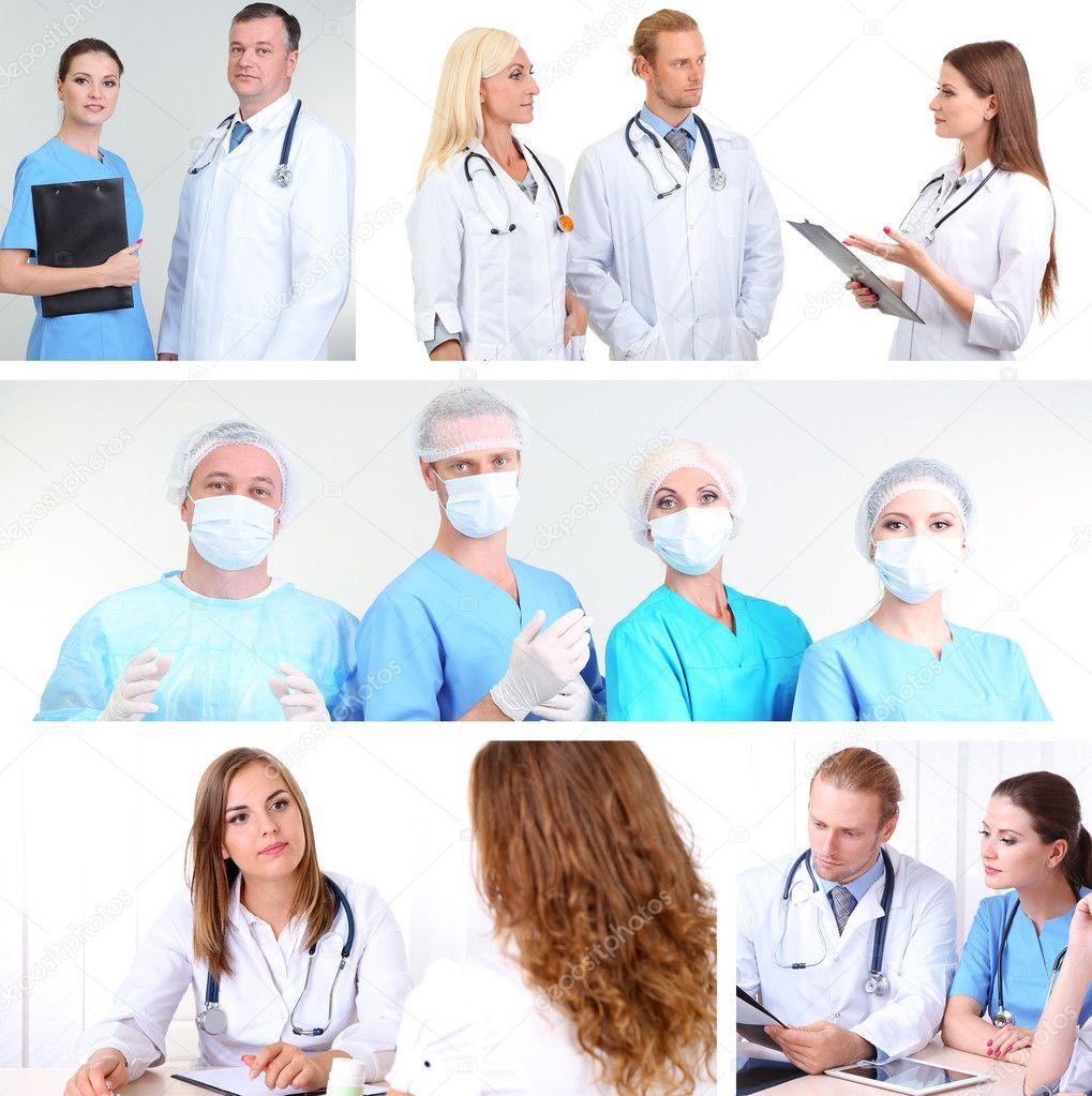 Фотоколлаж для медиков