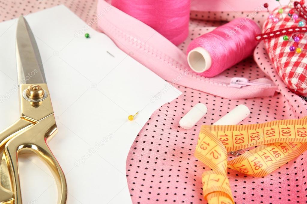 sewing tools fashion design � stock photo 169 belchonock