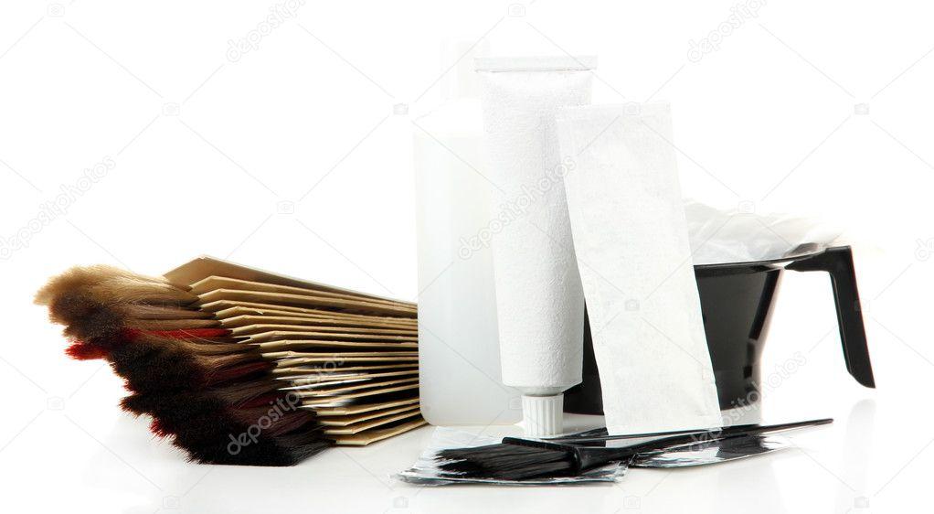tintes para el cabello y kit de muestras de cabello de diferentes ...