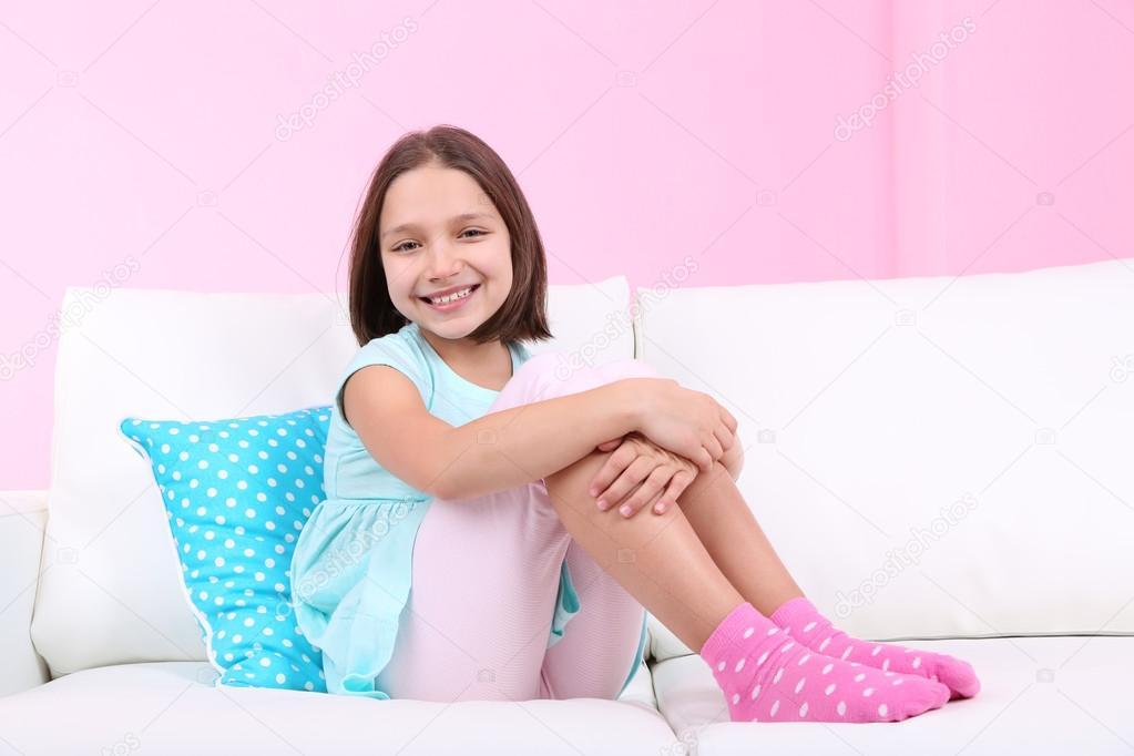 In socks girls Female players
