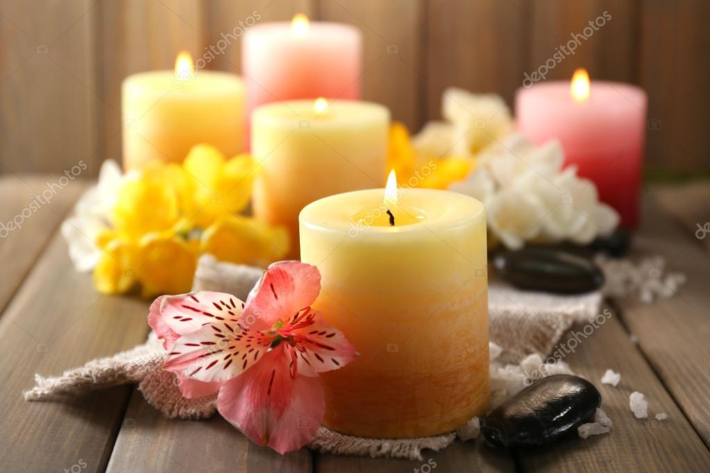 Favorito Candele Con Fiori EL67 » Regardsdefemmes OF25
