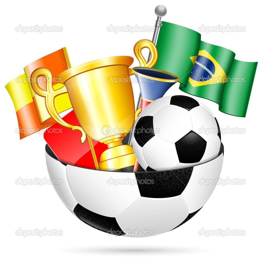 artigos de futebol — Vetores de Stock © TAlexey  42891585 92c29f2b0c32f