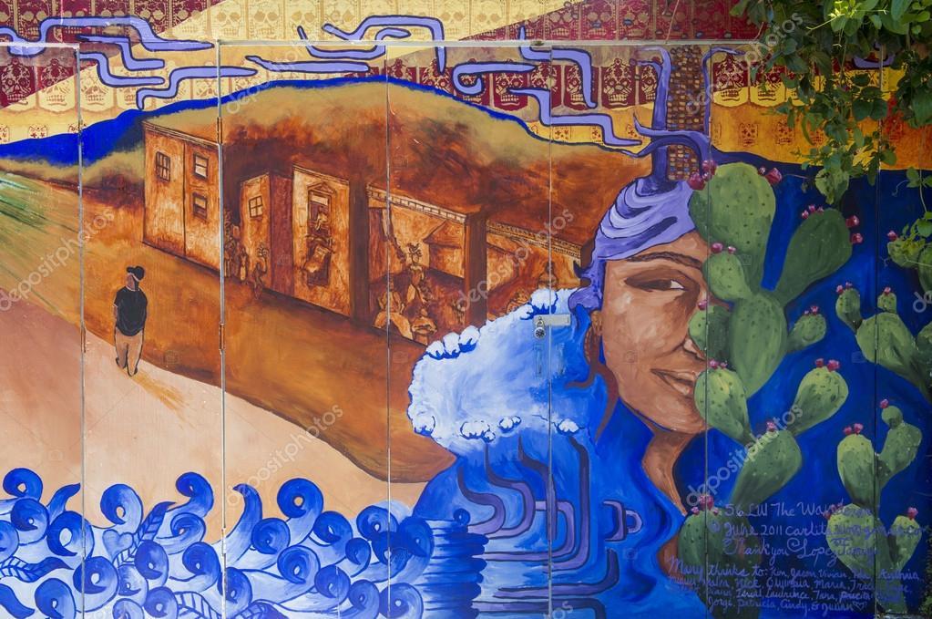 Peintures Murales De Mission Photo éditoriale Kobbydagan