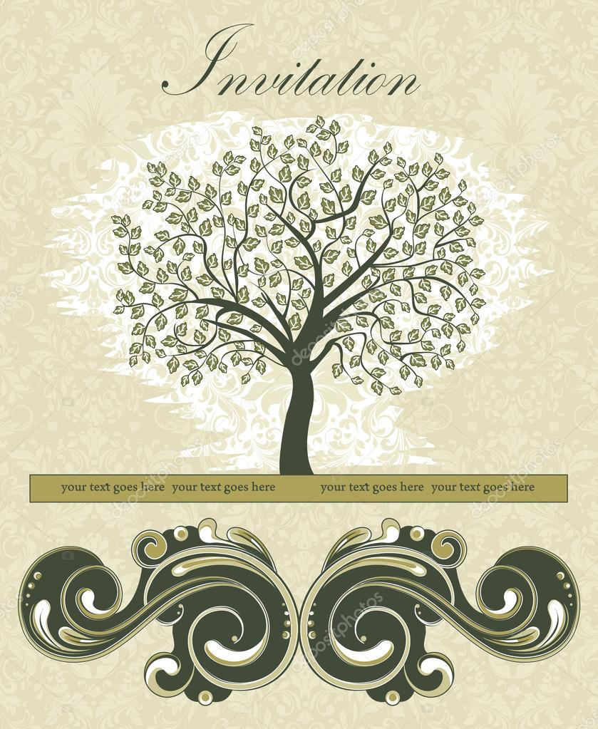 Tarjeta De Reunion Tarjeta De Invitación Reunión Familiar