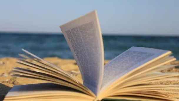 kniha z písku