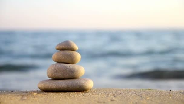 Stacked Zen stones