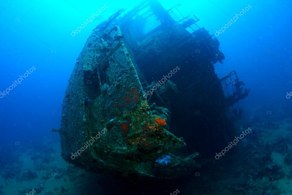 Ship wreck Chrisula K