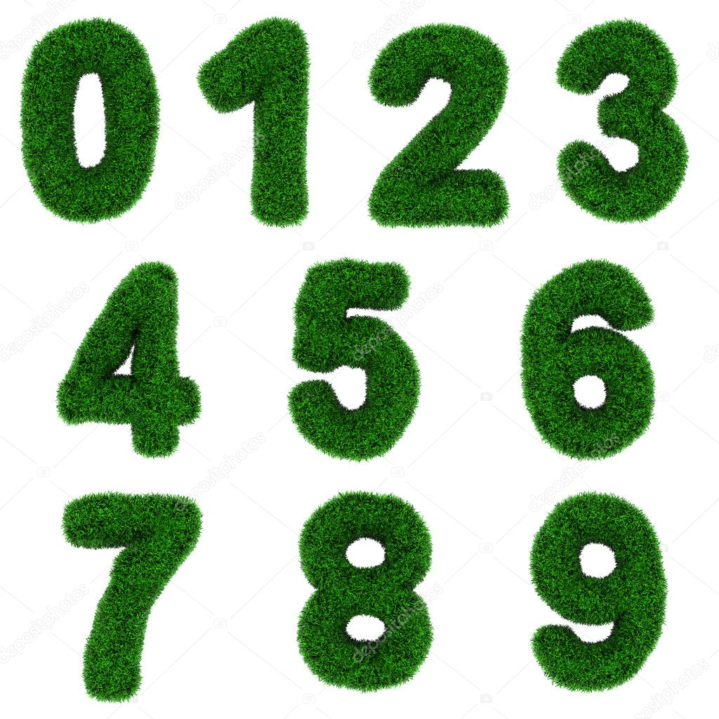Grass numbers