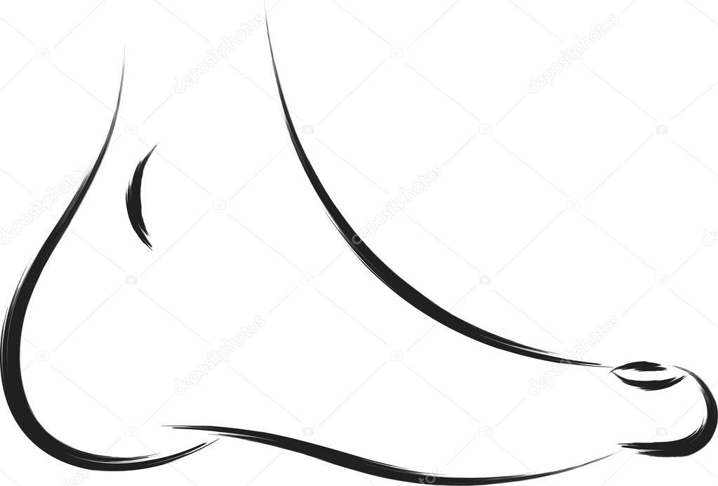 Foot symbol