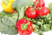 friss zöldség készlet