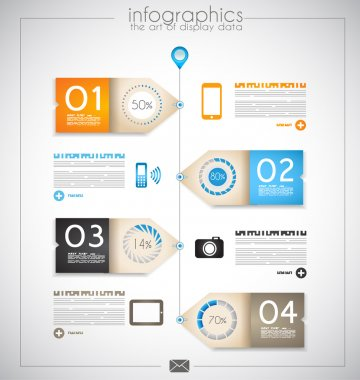Infographic design for product ranking