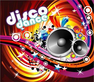 Disco Dance Background