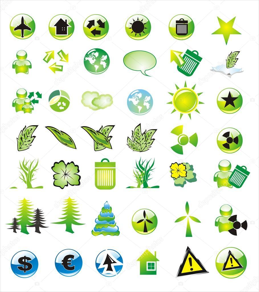 Environmetal Icon Set