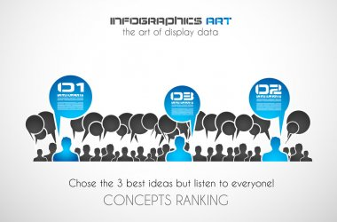 Worldwide communication and social media concept art.