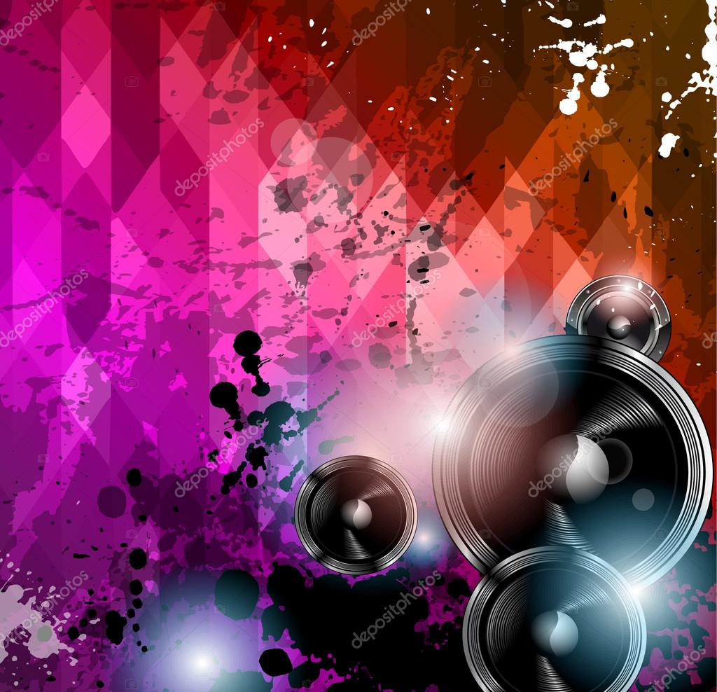 Disco Club Flyer Template. Abstract Background To Use For Music Event  Posters Or Album Covers. U2014 Vector By DavidArts  Club Flyer Background